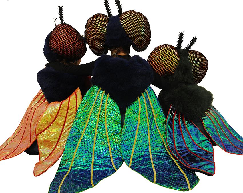 Fliegenkostüme, Ausstellung