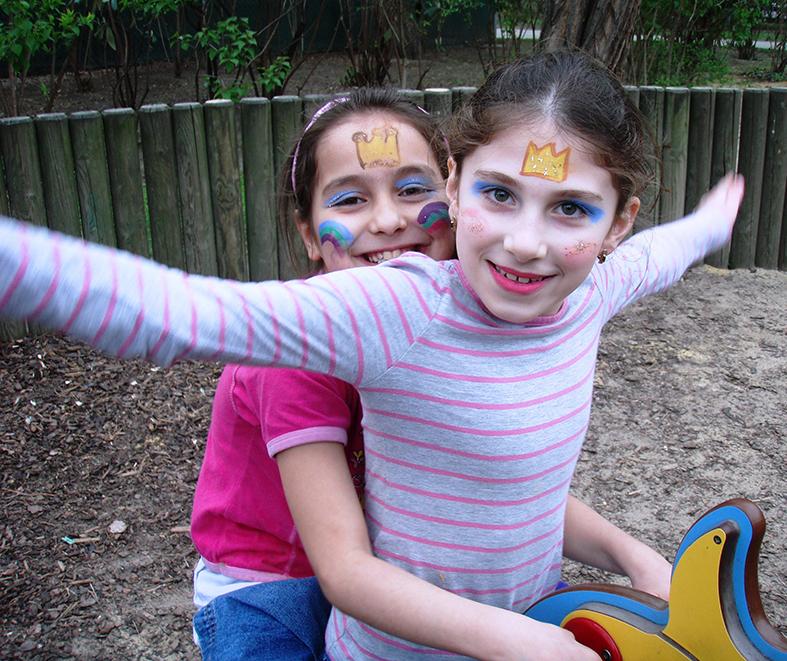 Spielplatzausflug, Flüchtlingskinderprojekt LIMDA, Foto: © Tina Handl