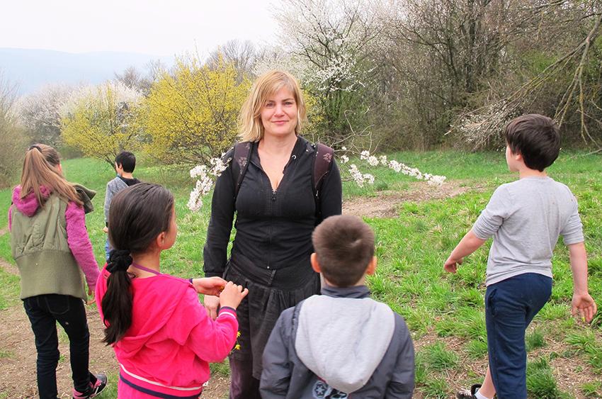 Ausflug mit Kindern des Flüchtlingskinderprojekt LIMDA, Foto: © Tina Handl