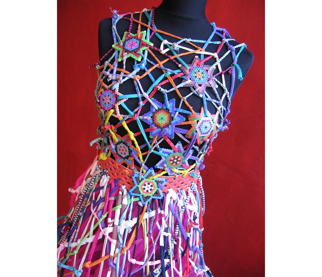 Ein Kleid für die Ausstellung