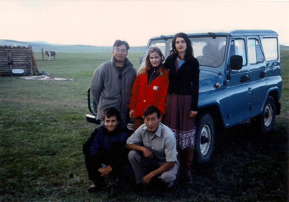 Forschungsteam in der Mongolei, Foto: © Tina Handl