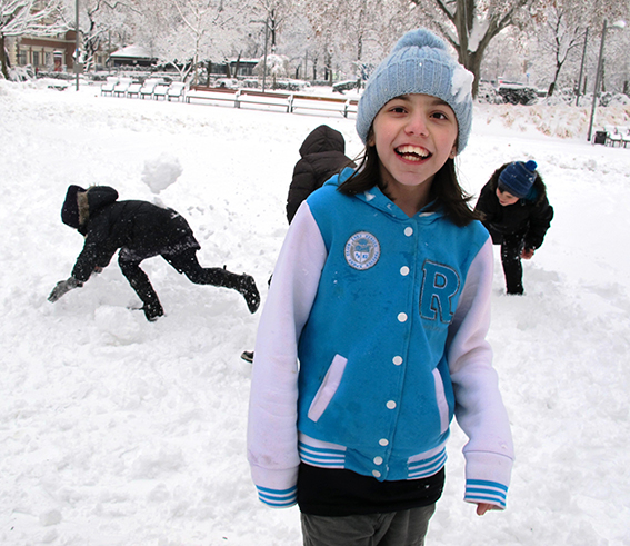 Winterausflug, Kinderflüchtlingsprojekt LIMDA, Foto: © Tina Handl