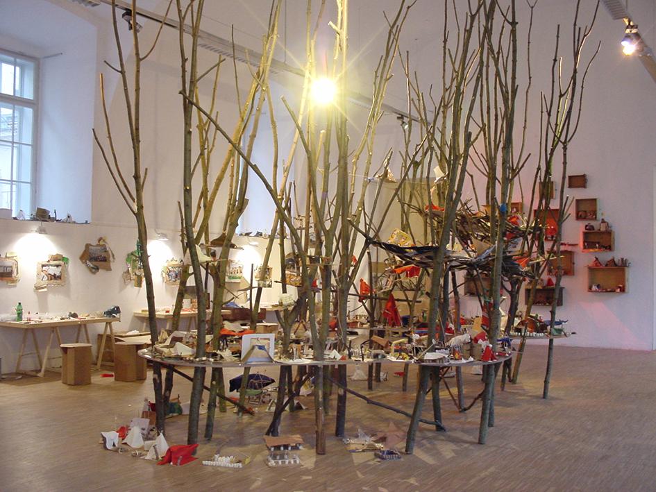 Künstlerische Leitung, Ausstellung