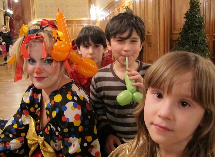 Fasching feiern im Rathaus, Kinderflüchtlingsprojekt LIMDA, Foto: © Tina Handl
