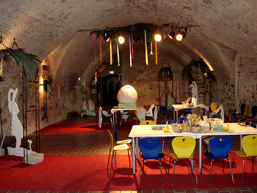 Kinderaktivprogramm, Fest der Hasen, Burg Forchtenstein, Foto: © Tina Handl