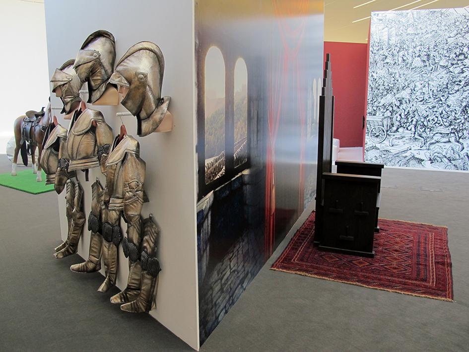 Interaktivzone, Ausstellung