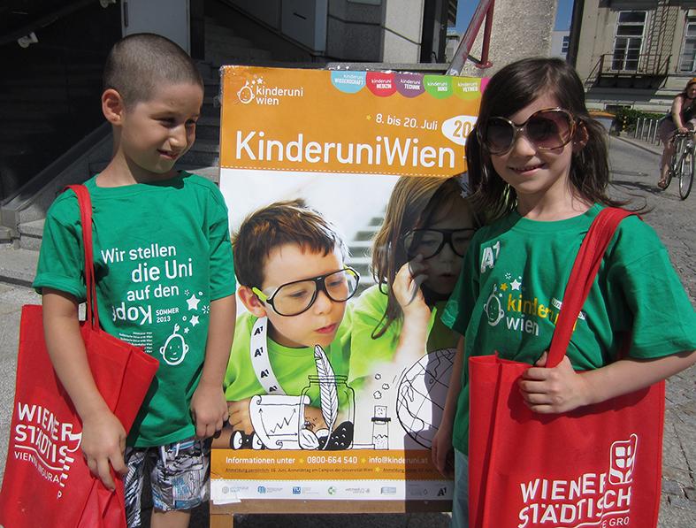 Kinderuni, Kinderflüchtlingsprojekt LIMDA, Foto: © Tina Handl