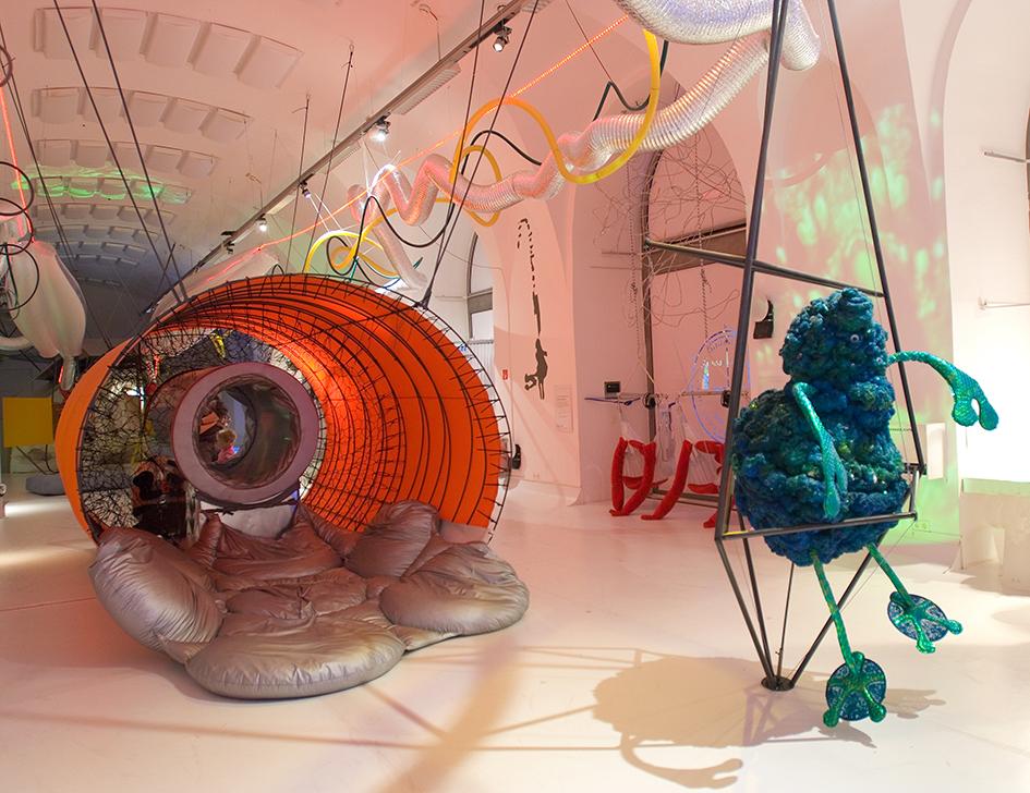Alienstation, Ausstellung